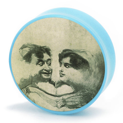 vintage moon postcard plugs