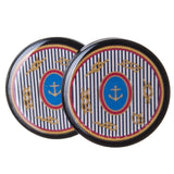 nautical scarf plugs