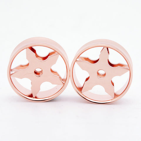 ninja star gold plugs