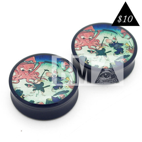 octopus japanese plugs