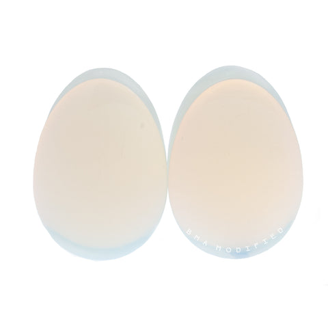 opalite glass plugs