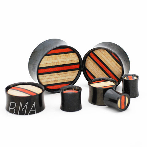 skateboard inlay steel plugs