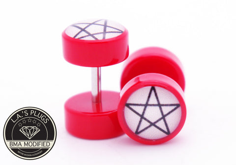 pentagram cheater plugs