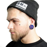 Pentagram Galaxy BMA Plugs (2.5mm-60mm)