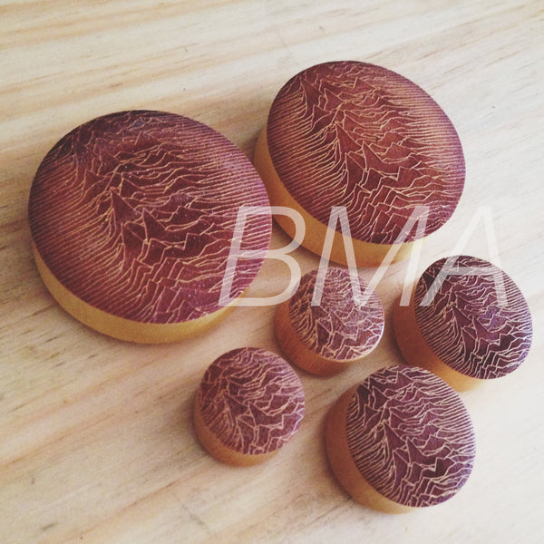 Pulsar Jackfruit Wood Plugs XL
