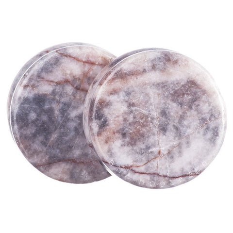 rhodonite plugs