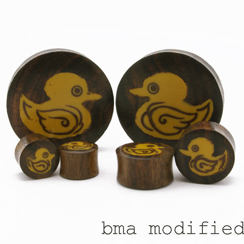 rubber duck wood plugs