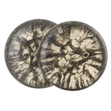 Shattered Haze Quartz Plugs (14mm-25mm)