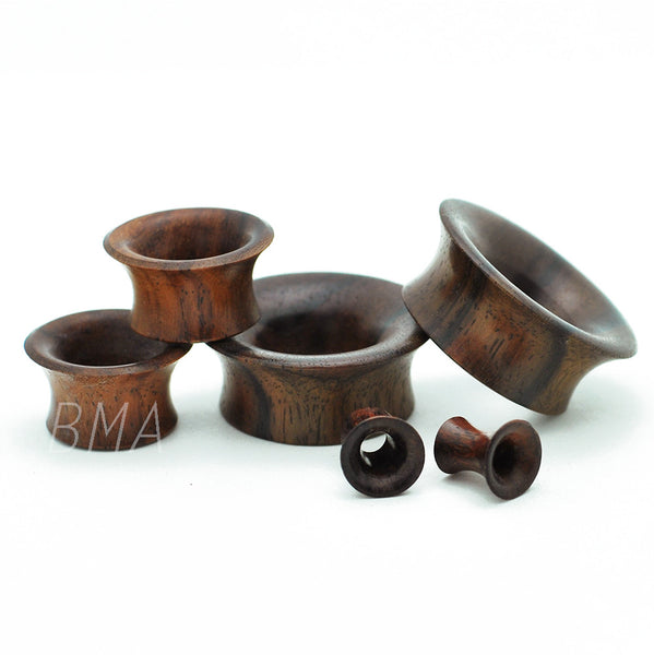 Brown Sono Mayan Flare Plugs (3mm-25mm)