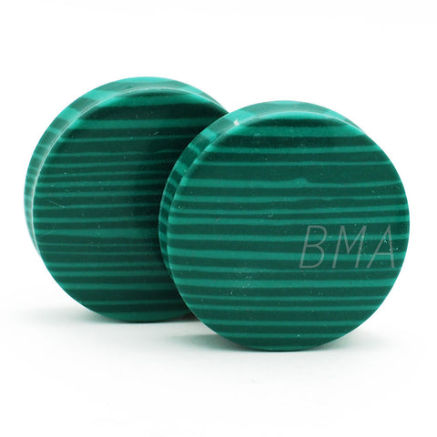 synthetic malachite plugs