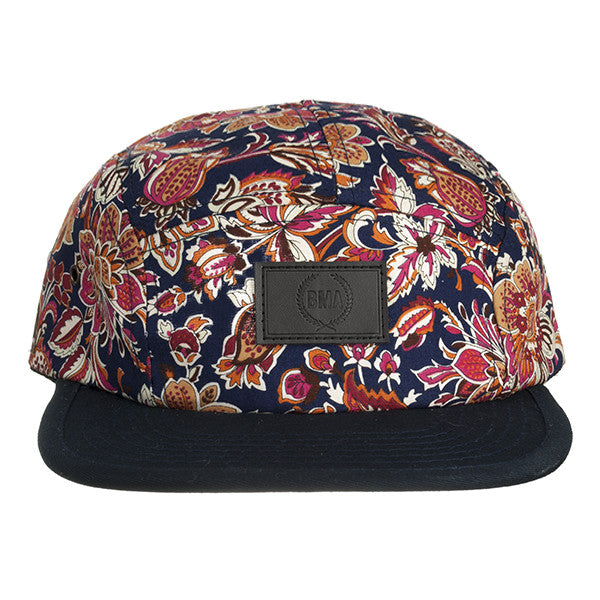 Tuscan Floral 5 Panel Hat