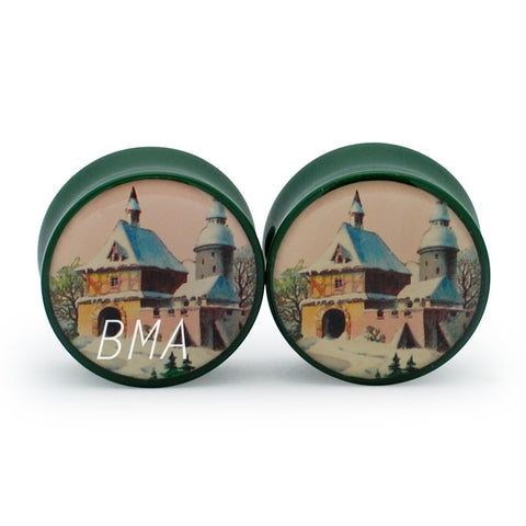 Victorian House Plugs (2mm-25mm)