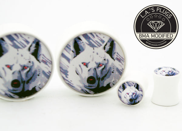 wolf ear gauges