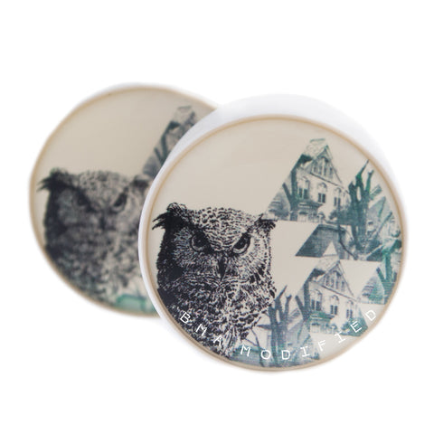 Witch House Owl Plugs