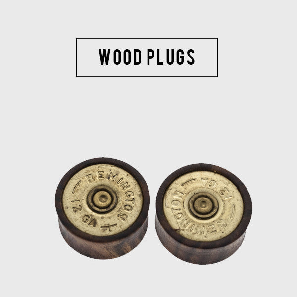 custom wood plugs