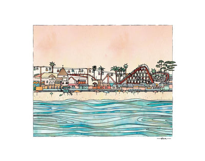 Studio Sea - Boardwalk Print