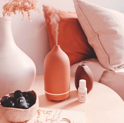 Essential Oil Diffuser in Terracotta