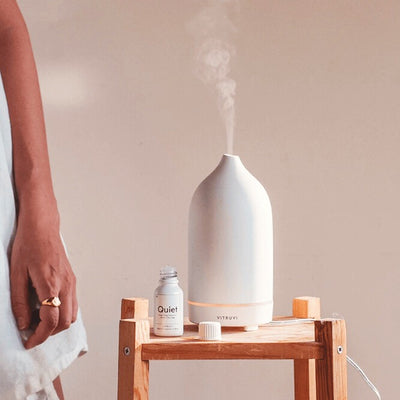 Essential Oil Diffuser in White