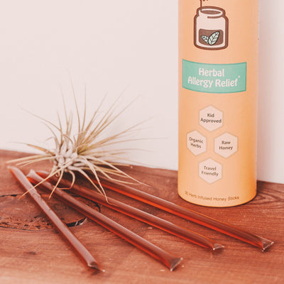 Allergy Relief Honey Sticks