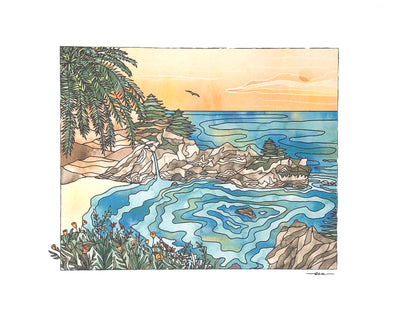 Studio Sea - Big Sur Print