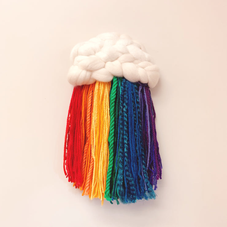Woven Rainbow Cloud Primary