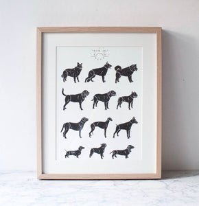 The Pack - print