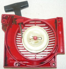 solo 639 chainsaw starter/recoil cover and pulley assembly