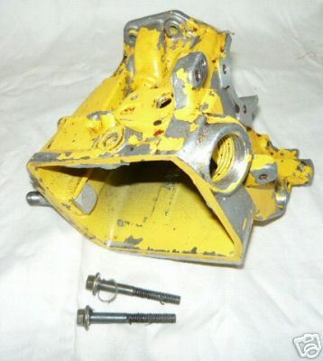 McCulloch Pro Mac 850 Chainsaw yellow Oil Tank Crankcase