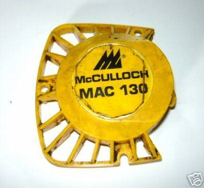 McCulloch Mac 110 120 130 EB 2.0 Yellow Starter Cover