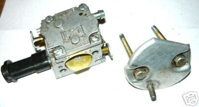 McCulloch CP-55 CP55 Chainsaw Carb Carburetor & Bolts