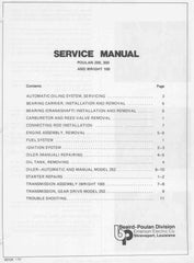 Poulan 245a - 306a Chainsaw Workshop downloadable pdf Service and Repair Manual