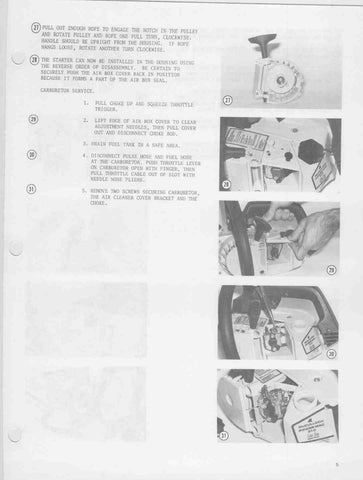Mcculloch Pro Mac 310 Chainsaw Manual
