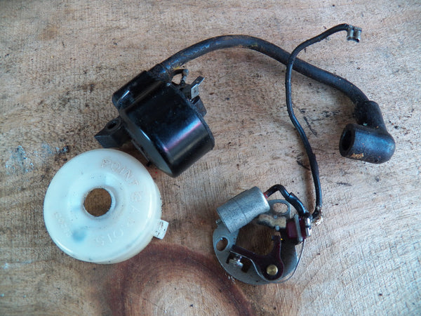 breaker point type ignition system includes Most pre-1980 cars were fitted with contact breaker ignition systems, which  yet,  some plugs are of the multi-electrode type that eliminates the.