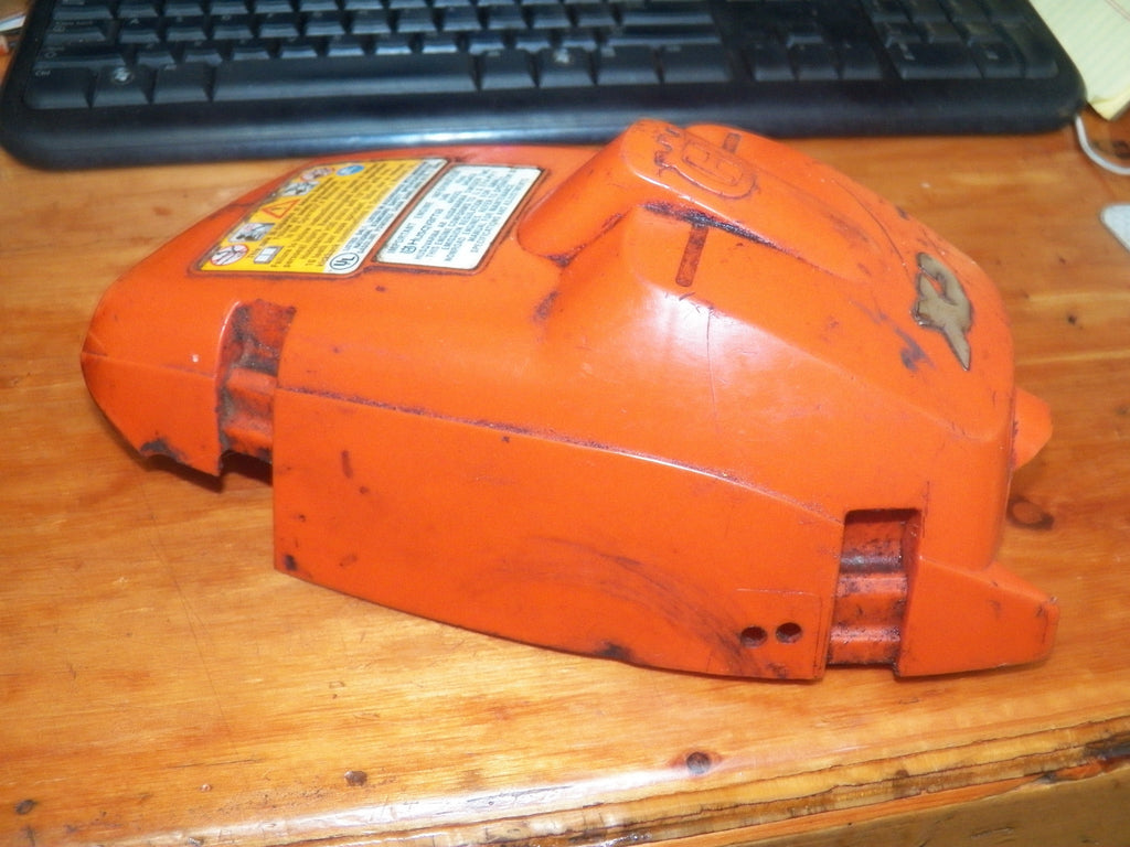 Husqvarna 346xp chainsaw old style top cover shroud