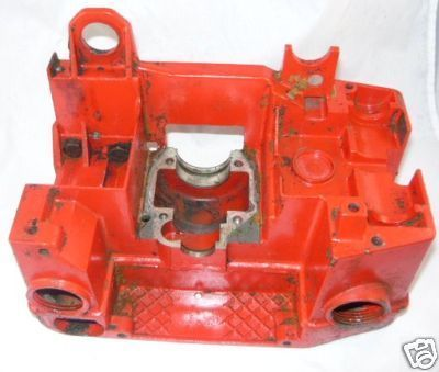 Jonsered 510 SP Chainsaw crankcase tank assembly