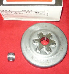 "echo cs-301 chainsaw gb 3/8"" - 6T pro spur sprocket drum new (new sprkt box 10)"
