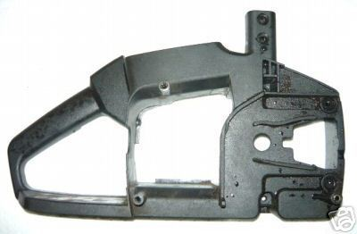 McCulloch mac 32cc to 38cc (MS 1435, 1432 + others) Chainsaw right Rear Trigger Handle Body Case half Non spring mount type