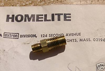 Homelite XL 921 923 924, VI 944 Valve Check 59456A NEW