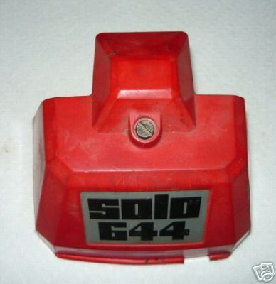 Solo 644 Chainsaw Air Filter Cover and Nut