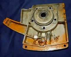 Montgomery Ward Remington SL-9 chainsaw orange crankcase cover assy