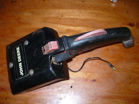 John Deere 80ev Chainsaw Complete Rear Trigger Handle Assembly