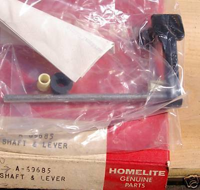 Homelite Chainsaw Shaft & Lever PN A69685 NEW