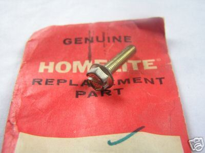 Homelite Chainsaw & Trimmer Hex Screw PN 82268 NEW
