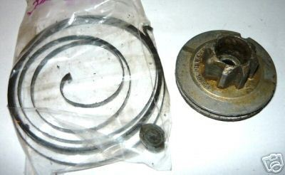Jobu SL-2 Chainsaw Starter Spring and Pulley