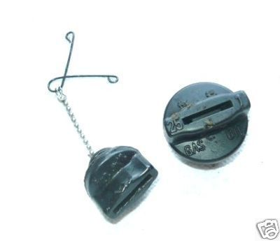 Shindaiwa 500 451 Chainsaw Gas/Fuel & Oil Cap Set