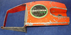 "roper built craftsman 3.7 18"" chainsaw clutch side cover only model 917.353770 (red, late model)"
