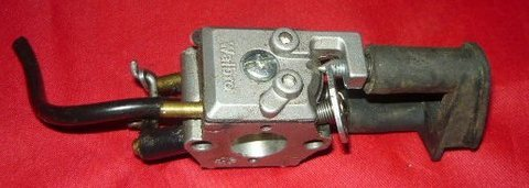 Homelite 300 Chainsaw Walbro Carburetor and grommet