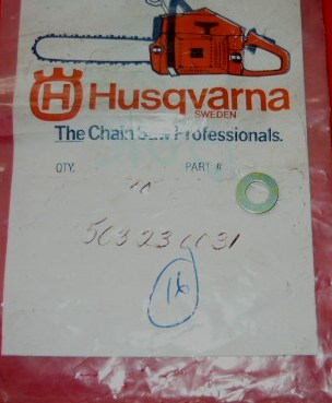 husqvarna trimmer washer pn 503 23 00-31 new (bin h-16)