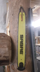 "NOS Sabre 16"" chainsaw bar with new 91VKL 55 chain"