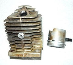 Pioneer Chainsaw P25 P-25 Piston & Cylinder Assembly
